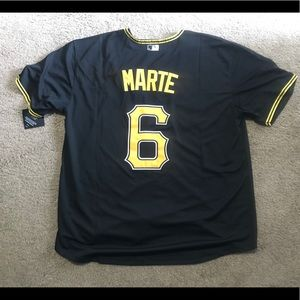Starling Marte Pittsburgh Pirates Jersey Men's